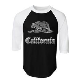 """Men's """"Cali"""" 100% Cotton Jersey Raglan"""