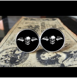Avenged Sevenfold Bathead Only *New* Cuff Links Men, Weddings,Grooms, Groom