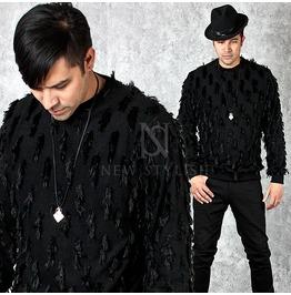 Unique Crow Black Sweatshirts 610