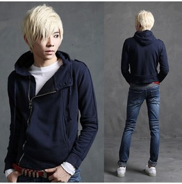 Designer Men's Zipper Up Slim Hoodies