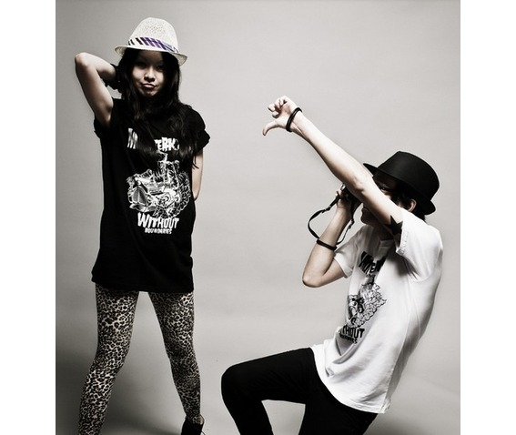 Punk Style Couple Shirt Women Punk T Shirt, Punk Tee_Tees_3.jpg