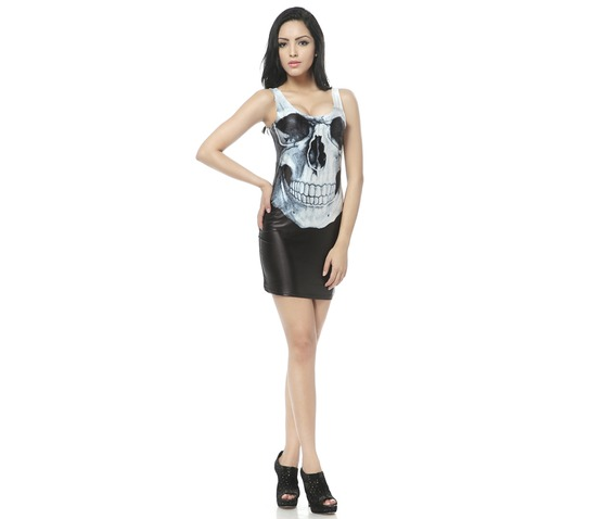 Gothic Skull Bodycon Dress Tank Tops_Dresses_4.jpg
