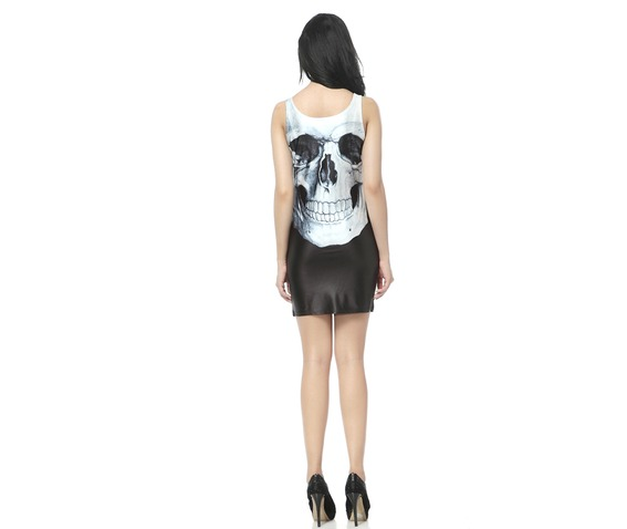 Gothic Skull Bodycon Dress Tank Tops_Dresses_2.jpg