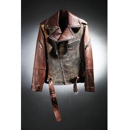 Sheep Skin Brown Rider Jacket