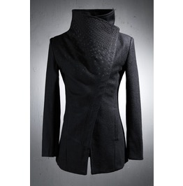 High Neck Cross Jacket