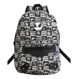 Nightmare Before Christmas Backpack Rucksack Bag Jack Skellington