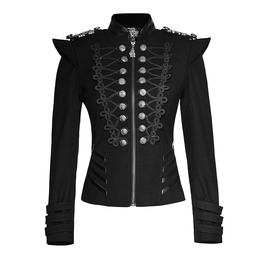 Military Style Steampunk Army Jacket Y722