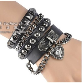Christmas Special Leather Bracelet