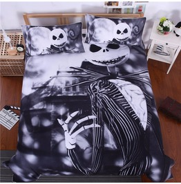 Nightmare Before Christmas Duvet And Shams 3 Piece Bedding Free Shipping