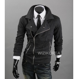 Jacket Ss312 H Color : Charcoal Gray