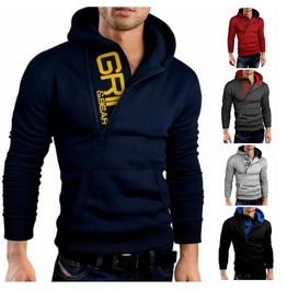 Black Red Grey Blue Hood Hoody Men Hood Men's Hoodies Men Hood Sweatshirts