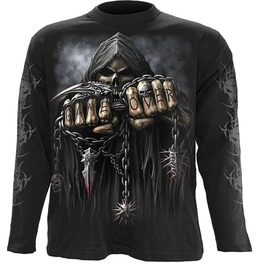 Spiral Mens Game Over Longsleeve Black Tr260700