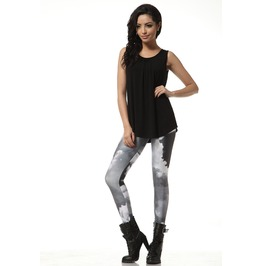 Dark Cloud Day Pattern Fashion Leggings