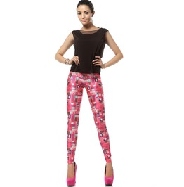 Welcome Pink World Barbie Pink Kawaii Leggings