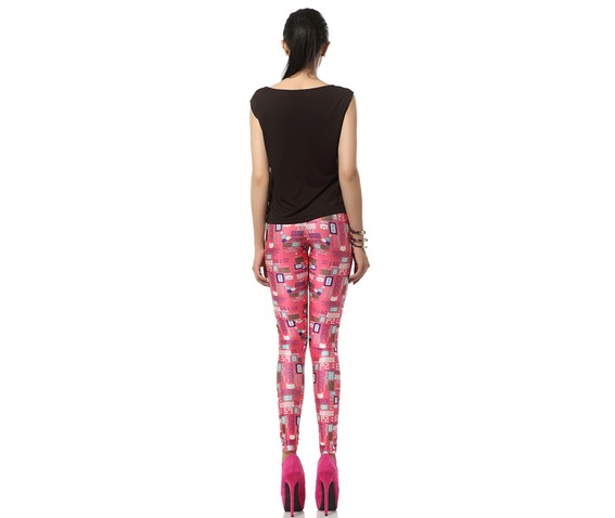 Welcome Pink World Barbie Pink Kawaii Leggings_Leggings_2.jpg