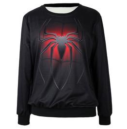 3 D Spider Animal Print Women Sweatshirts