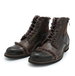Vintage Boots With Laces