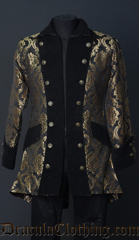 Gold Brocade Pirate Jacket 129573