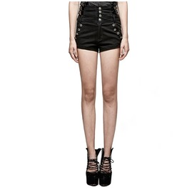 Punk Rave New Design Women's Military High Waist Versatile Shorts K272