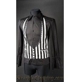Black And White Waistcoat