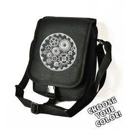 Cryoflesh Gear Cog Cyber Steampunk Bag