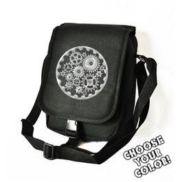 Cryoflesh Gear Cog Cyber Steampunk Bag