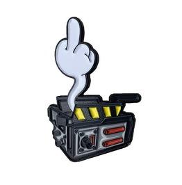 Ghost Trap Enamel Pin