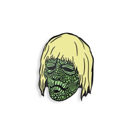 Verne Langdon Zombie Enamel Pin