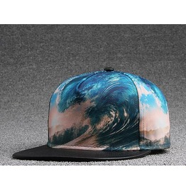 Ocean Wave Hat Hip Hop Cap A51