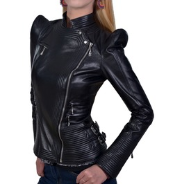 Space Nomad Genuine Leather Jacket