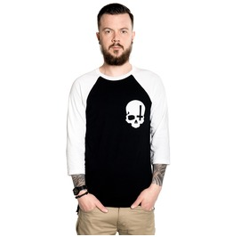 Toxico Clothing Skull Cross Raglan