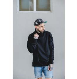 Street Fashion Hip Hop Turtleneck Collar Men's Sweatshirts