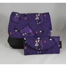 Nightmare Before Christmas, Jack And Sally, Kelsi Ii Cross Body With Wallet