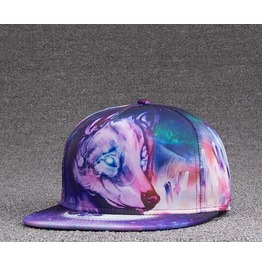 Wolf Head Cap Hip Hop Hat A55