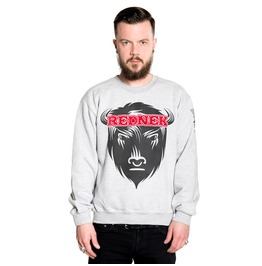 Toxico Clothing Redneck Bison Crew Neck