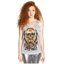Toxico Clothing All Seeing Skull Jersey Vest