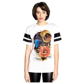 Toxico Clothing Demon Girl Mesh T Shirt