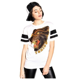 Toxico Clothing Wolf Mesh Tee