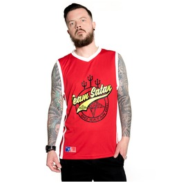 Toxico Clothing Team Satan Basketball Vest