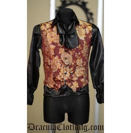 Floral Brocade Waistcoat