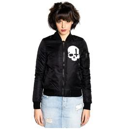 Toxico Clothing Skull Cross Flight Jacket