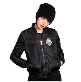 Toxico Clothing Tigers Flight Jacket