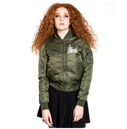 Toxico Clothing Too Close Flight Jacket