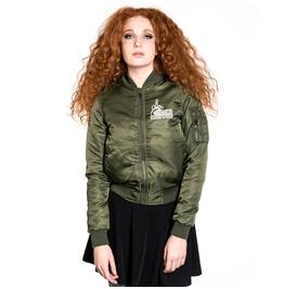 Toxico Clothing Too Close Flight Jacket