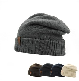 Men's Warm Chunky Soft Stretch Cable Knit Beanies