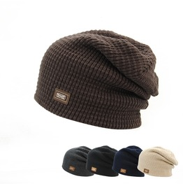Men's Winter Fleece Lined Beanies