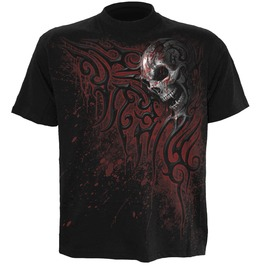 Spiral Mens Death Blood T Shirt Black Wm124600