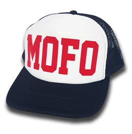 Toxico Clothing Mofo Trucker Hat (Navy/White)
