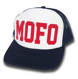 Toxico Clothing Mofo Trucker Hat (Navy/White)