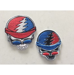Embroidered Grateful Dead Deadhead Iron/Sew On Patch